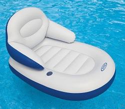 gemütliche Pool Lounge Schwimmsessel Intex